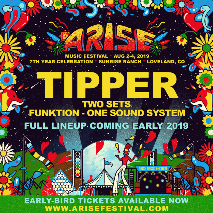 Arise Music Festival Reveals First 2019 Headliner
