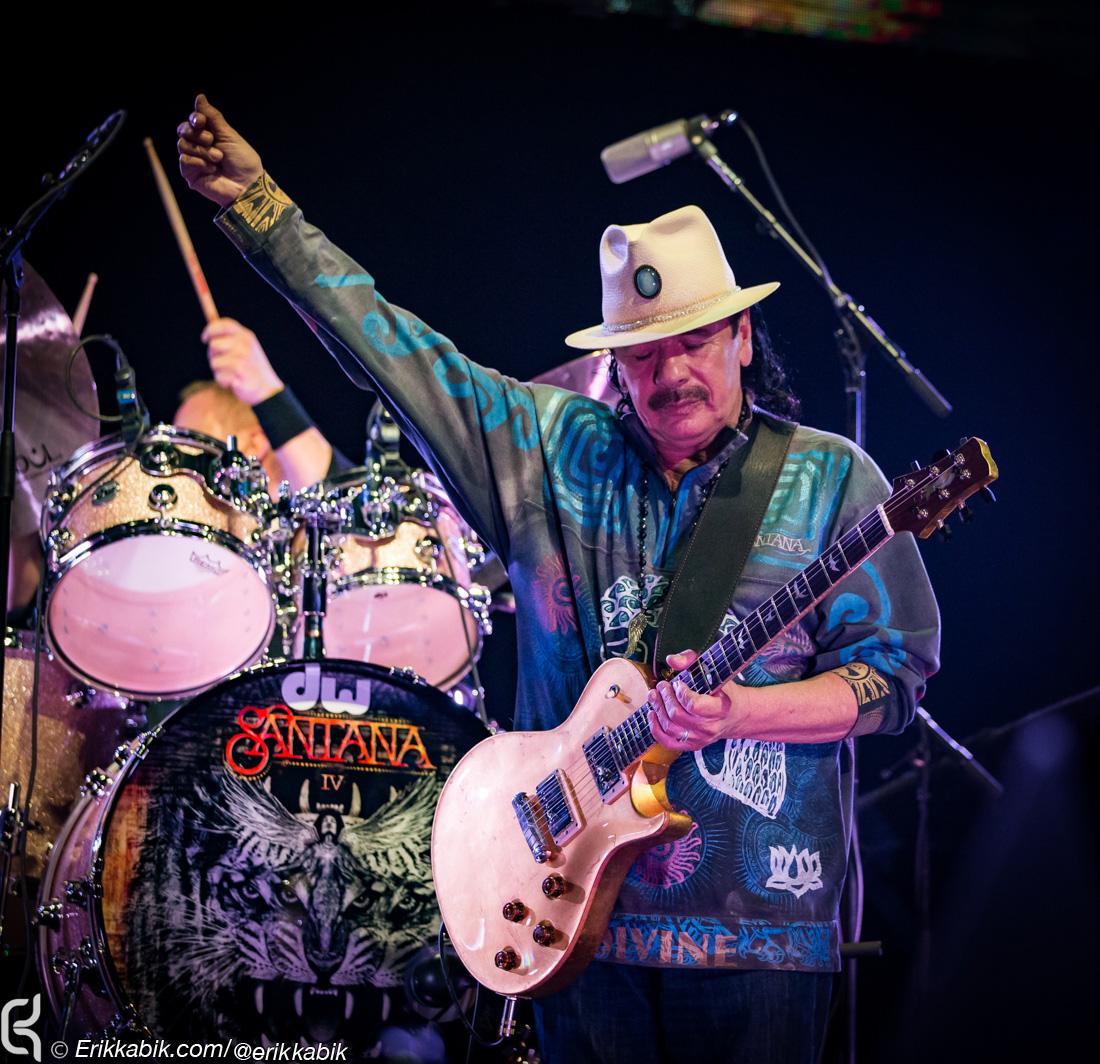 "Carlos Santana Plots ""Supernatural Now"" Tour with The Doobie Brothers"