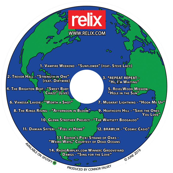 Check Out Our June CD Sampler